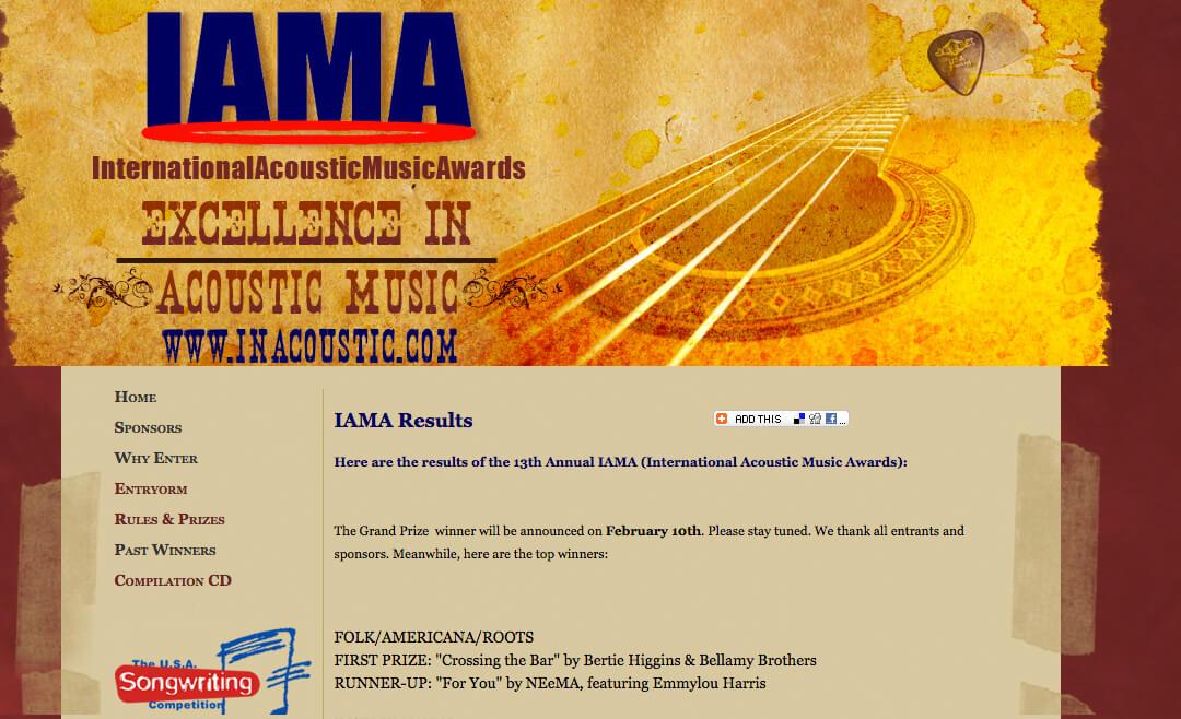 IAMA winners